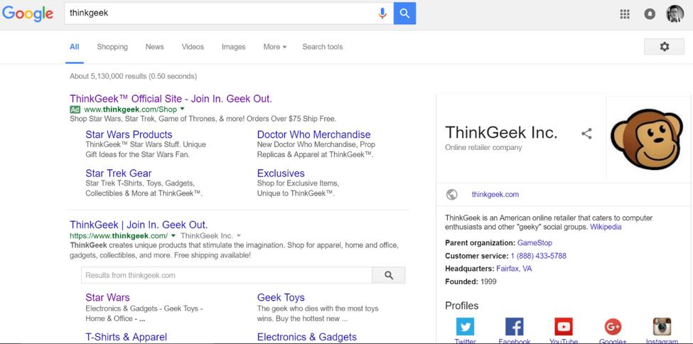 google-thinkgeek-results