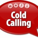 Cold Calling Speech Bubble