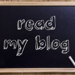 Blog promotion using social media