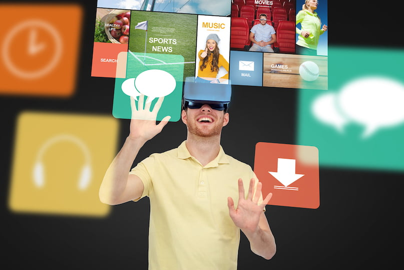 virtual reality a modern technology media essay Augmented reality is a technology which allows augment images of real objects of  augmented reality essay  the timeline and modern use of virtual reality tv.