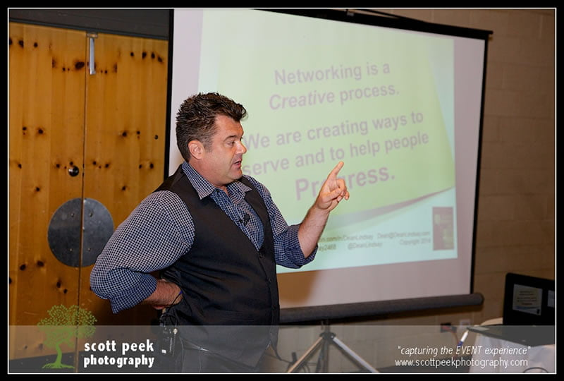 Dallas Social Media Conference, Dean Lindsay, Cracking the Networking Code