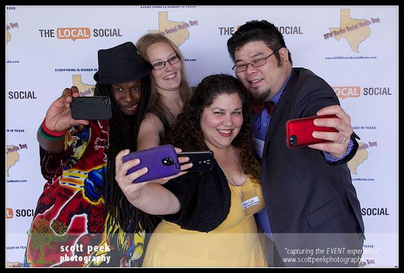 Dallas Socia Media Conference Selfie Eric Tung