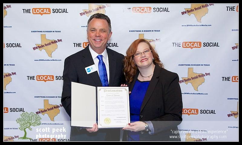 Social Media Day Proclamation, Lissa Duty