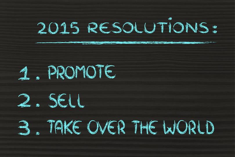 Digital Marketing Resolutions for 2015