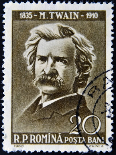 Mark Twain's Tips for Creating Content