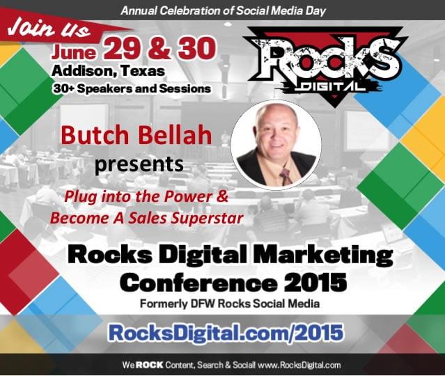 Butch Bellah, Sales Expert to Speak at Digital Marketing Conference in Dallas