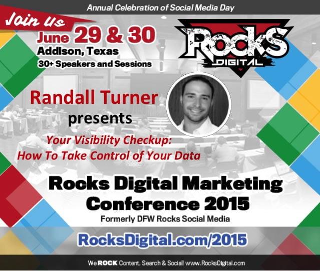 Randall Turner, Digital Marketing Expert to Speak at Rocks Digital  Marketing Conference