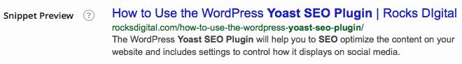 WordPress-SE0-Plugin-Yoast-Snippet-Preview