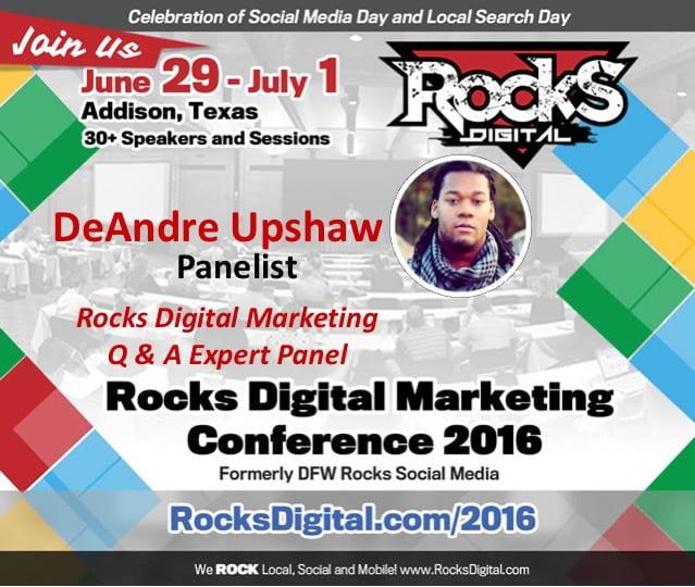 DeAndre Upshaw, Standing Dog, Rocks Digital 2016