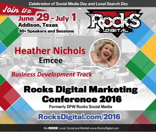 Heather Nichols, Rocks Digital Marketing Conference 2016