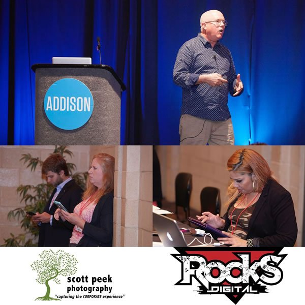 Mark Traphagen Rocks Talk, Rocks Digital Marketing Conference Dallas 2016