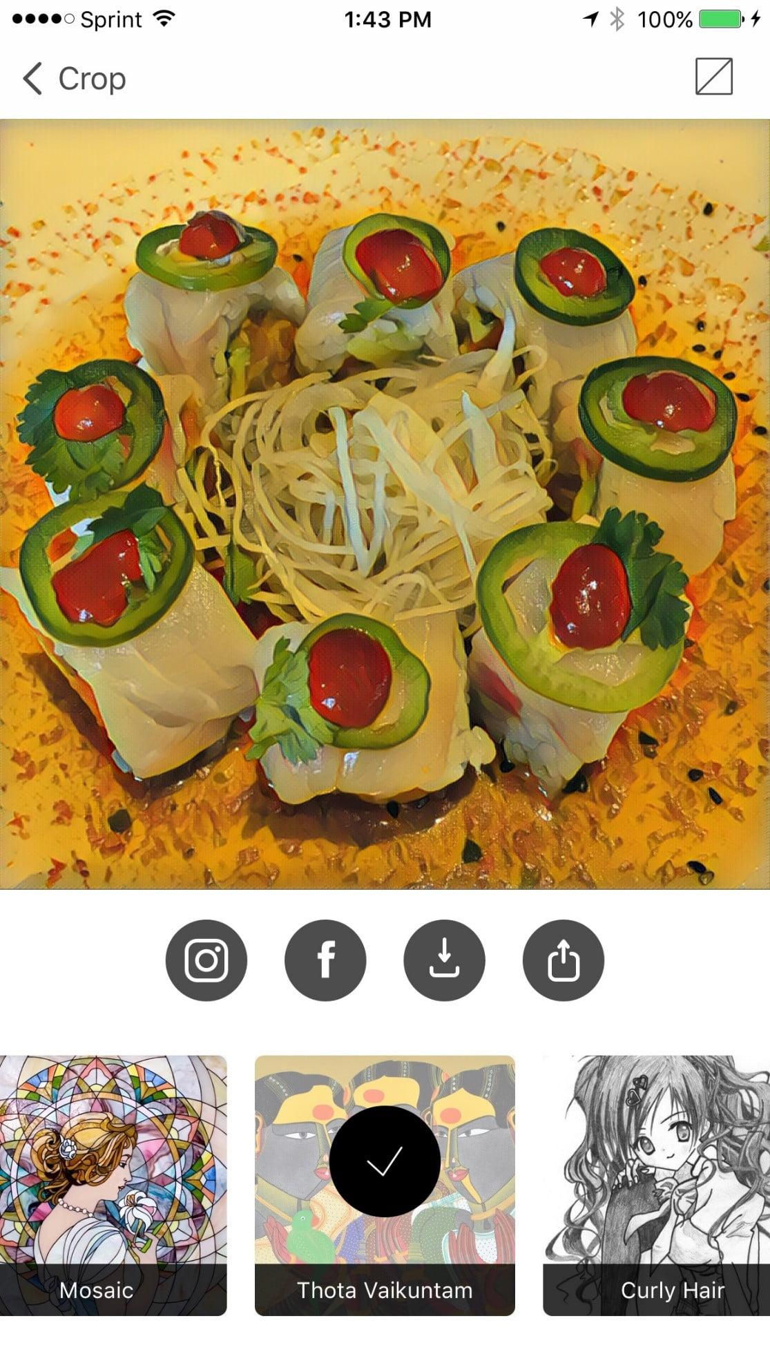 Prisma sushi