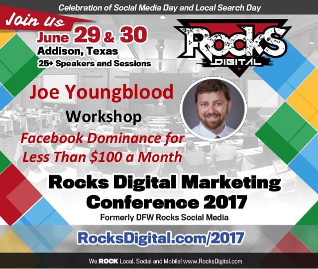 Joe Youngblood, Facebook Ads Workshop