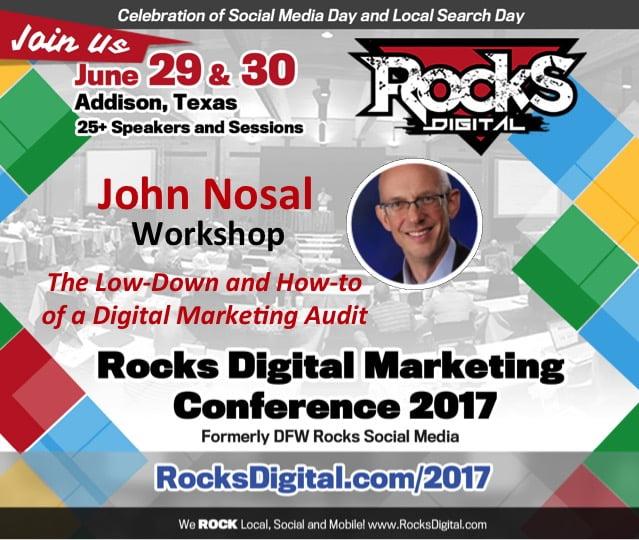 john nosal digital marketing audit