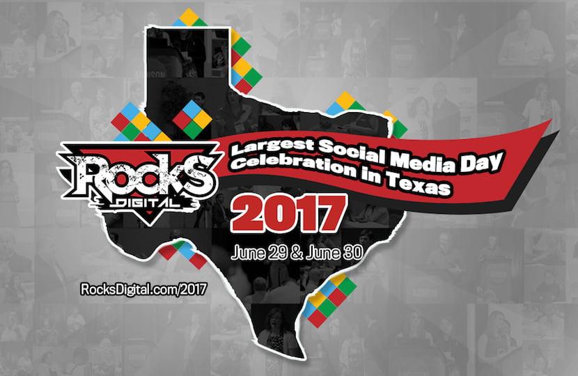 Rocks Digital Celebrates Social Media Day in Addison, Texas